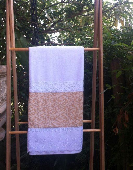 Toalha de Banho em Sacaria